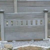 Jual panel pagar beton terpasang