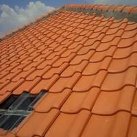 Jual Genteng keramik unglazed terakotta