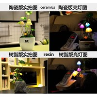Jual LED Avatar 7 Warna Mushroom Lamp