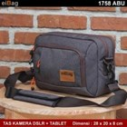 Camera bag And 10 INCH Tablet EIBAG 1758 the old Grey