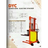 Stacker Semi Electrik