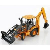 Miniature Heavy Equipment Hyundai Loader Backhoe