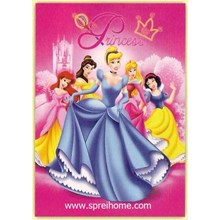 Soft Fleece Blanket Soft Panel Brand Rosanna Motif Cartoon Characters.