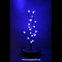 Jual Handicraft Bunga Akrilik Lampu