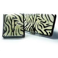 Dompet Couple Motif Zebra