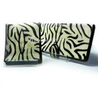 Dompet Couple Motif Zebra