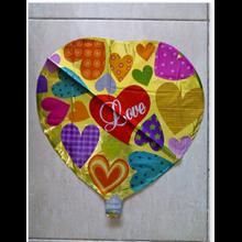 Balon Foil Dekorasi Love (FD LOVE05)