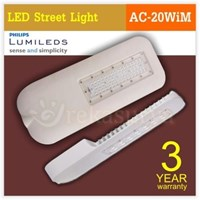 Jual LED Street Light AC Im-20W 220VAC Phillips LED Chips 20W Mini Series