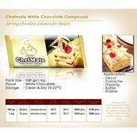 Jual Chefmate White Chocolate Compound