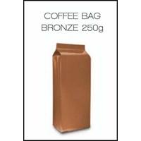 Jual Coffee Bag Gusseted 250G ( Bronze)