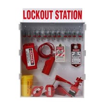 99700 ekstra besar Lockout Station dengan komponen