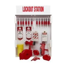 99703 besar Lockout Station dengan komponen dan 12