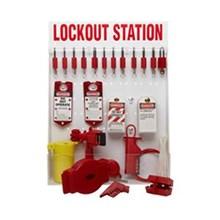 99699 besar Lockout Station dengan komponen dan 12