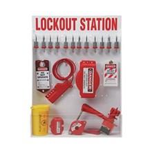 99697 besar Lockout Station dengan komponen dan 12
