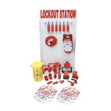 99706 kecil Lockout Station dengan komponen dan 6