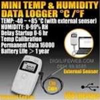 Jual Humidity And Temperature Data Logger USB RC-4HC