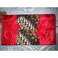 Jual Souvenir Tempat Tisu Batik Satin