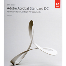 Software Adobe Acrobat Standart DC (Document Cloud) For Win 2015
