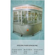 Steling Nasi Lengkung