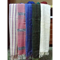 Sell  Larger Image Shawl SCARF Striated And Batik