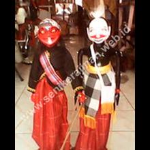 Wayang Cepot & Semar