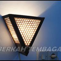 Jual Pusat Kerajinan Lampu Dinding Tembaga Kuningan