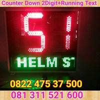 Jual Counterdown Running Text