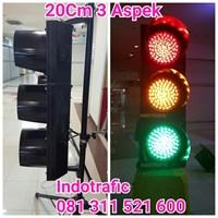 Traffic Light 20cm 3 aspek