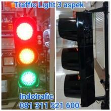 Traffic Light 20cm 3 aspek Lampu Jalan