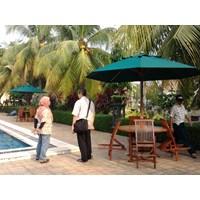 Jual Payung kolam Renang (payung Kayu)
