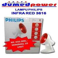Jual PHILIPS INFRARED LAMP -LAMPU INFRA MERAH - INFRAPHILL UNTUK KESEHATAN 3616