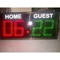 Jual Papan Score Digital Futsal Volley Basket Golf Dll