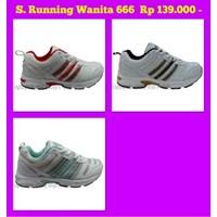 Jual Sepatu Running Wanita Merek Keta Kode 666