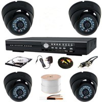Sell expert installation package camera cctv 4 channel