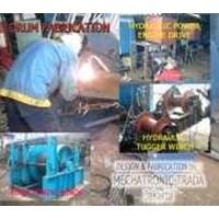 Hydraulic Winch Hydraulic
