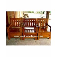 Sell Model Kursi Kayu Jati Meebel Jepara YMJ-MM-221