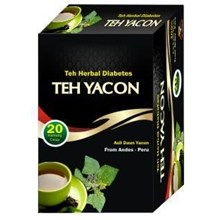 Teh Herbal Diabetes Daun Yacon