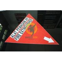 Jual Safety Sign & Rambu K3 - Sign APAR ( Alat Pemadam Api Ringan) Standar Depnaker