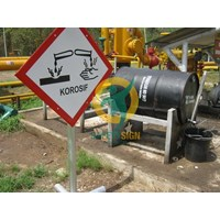 Safety Sign & Signs Toxic Harmful K3 (B3)