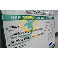 Safety Sign & Rambu K3 - Safety Performance Board - Papan Performa Kesehatan dan Keselamatan Kerja