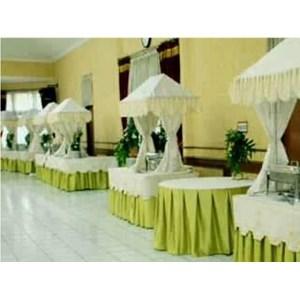Jual skirting meja prasmanan harga murah jakarta oleh pd for Dekorasi lebaran hotel