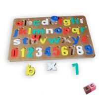 Puzzle Cat Huruf Kecil