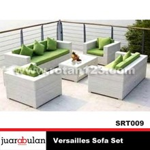 Versailles Synthetic Rattan Sofa Set Sofa