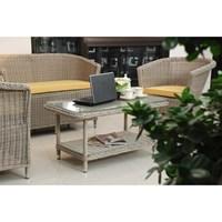 Amelia Living - Antique Living Room Rattan Furniture 2 Seate..