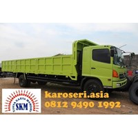 Karoseri Bak Truk Drop Side Medium