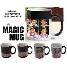 Mug Bunglon Foto Sablon Digital Mug Magic