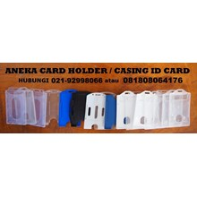 CARD HOLDER LEATHER CASING ID CARD
