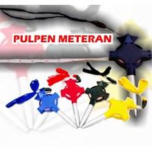 Souvenir pen meteran pulpen meteran murah