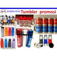 Tumbler promosi  tumbler stainless steel tumbler plastic botol minum insert paper