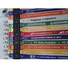 ID CARD STRAPS MAKE a ROPE CORD AGENT ID CARD ID CARD in tangerang